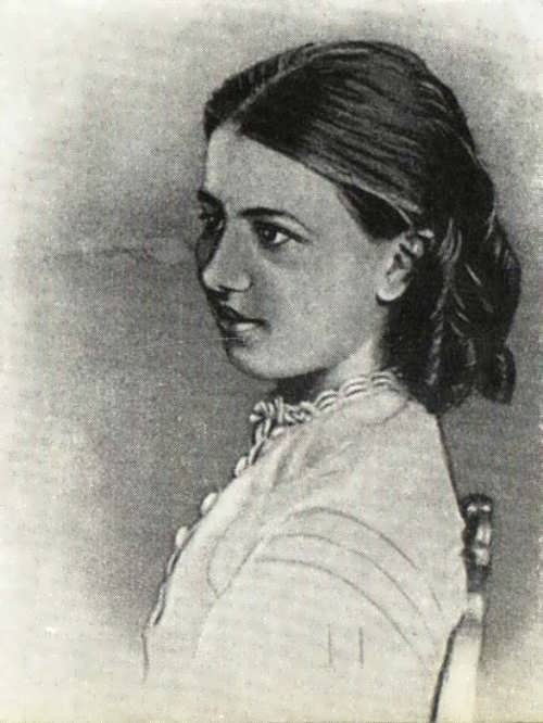 Sofia Kovalevskaya, as a young girl, wallpapered her room with math lecture notes and secretly read algebra texts while the family slept at night.