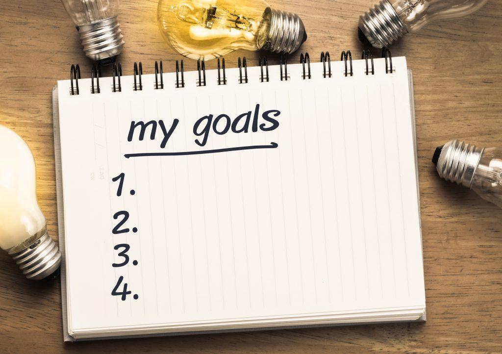Tip #4: Set personal goals.